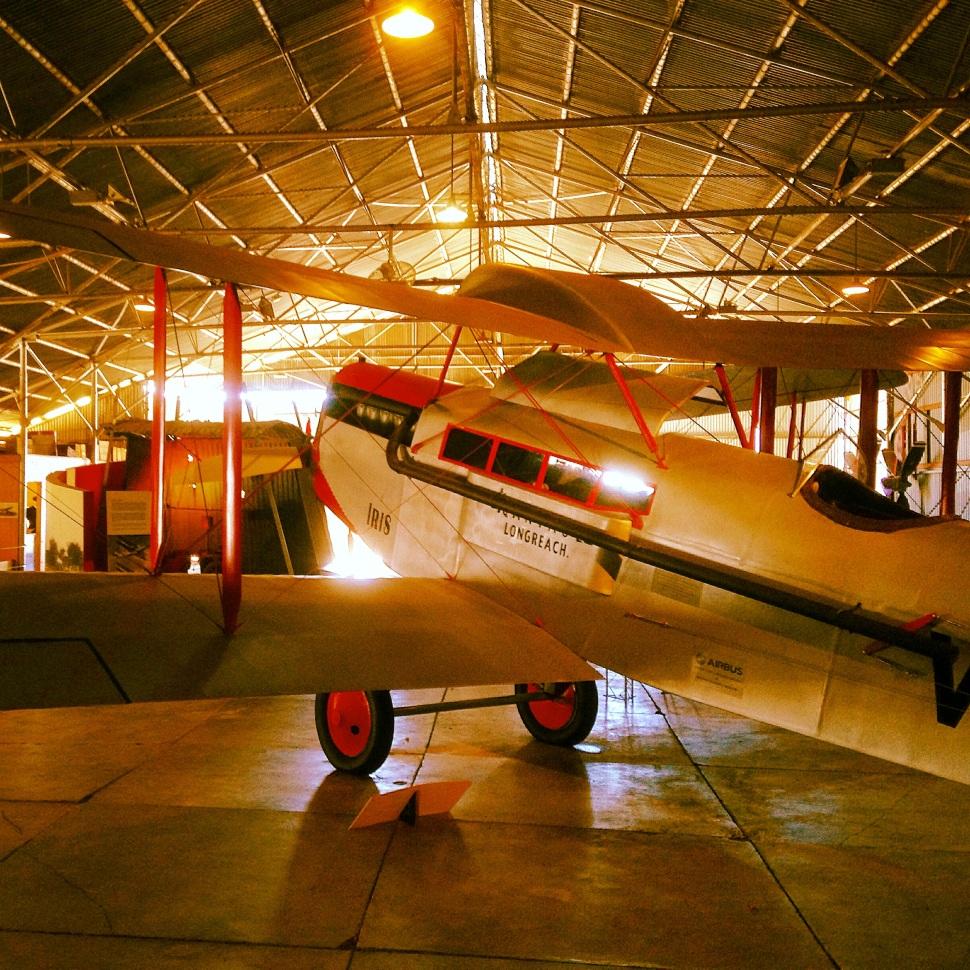 11 DH50 in Hangar