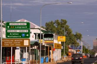 Barcaldine, Queensland. Photo: Erle Levey, Sunshine Coast Newspapers