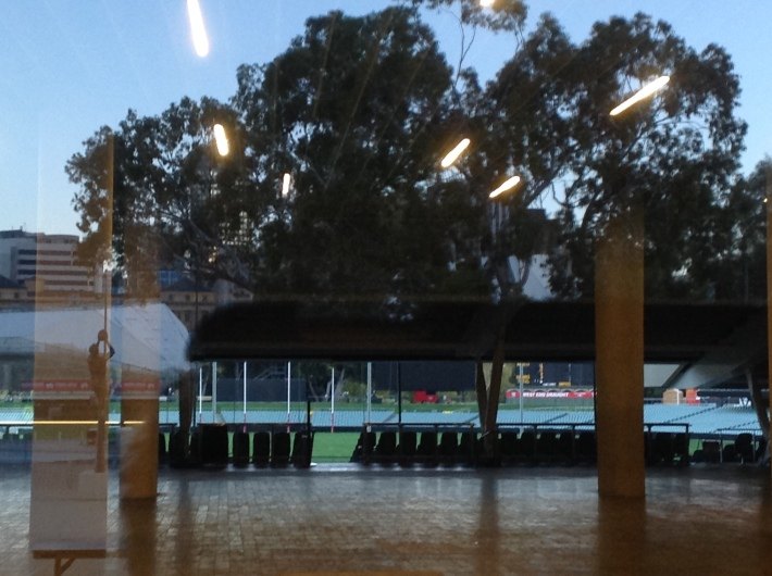 The foyer of Adelaide Oval.