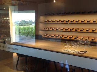 The Grange Hermitage tasting room at the Penfold's Magill Winery in Adelaide's eastern foothills.