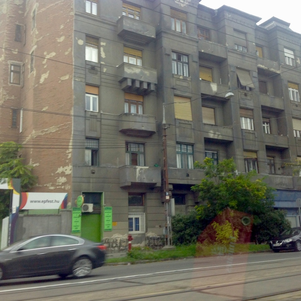The outer suburbs of Budapest reflect its time under Soviet control.