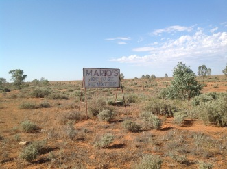 South of Broken Hill, NSW Photo Erle Levey / Sunshine Coast Daily