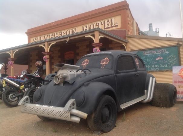 Silverton Hotel, western NSW Photo Erle Levey / Sunshine Coast Daily