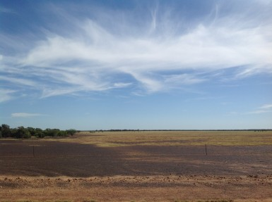 Open country near Bladensburg National Park, south west of Winton. Photo Erle Levey / Sunshine Coast Daily