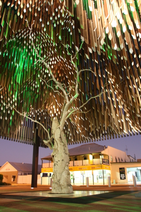 The Tree of Knowledge, Barcaldine. Photo: Erle Levey