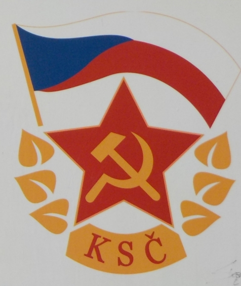 Symbol of the Czecheslovak Communist Party.