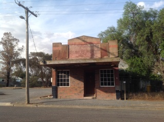 An old butcher shop, Beulah, Victoria. Photo Erle Levey