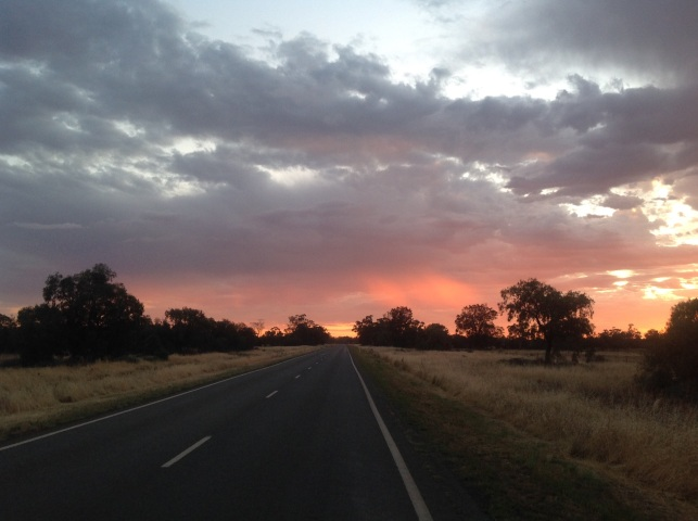Nyngan morning, NSW. Photo: Erle Levey