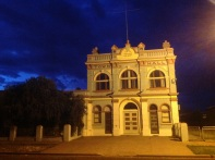 Morning light, Nyngan Town Hall, NSW. Photo: Erle Levey