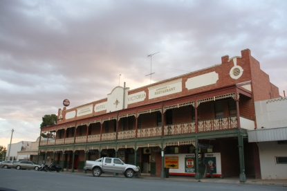 Hotel Victoria at Ouyen, Victoria. Photo Erle Levey