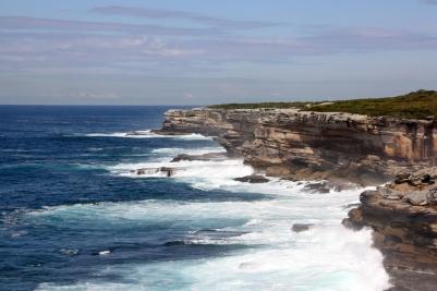 The rugged coastline at Botany Bay National Park.