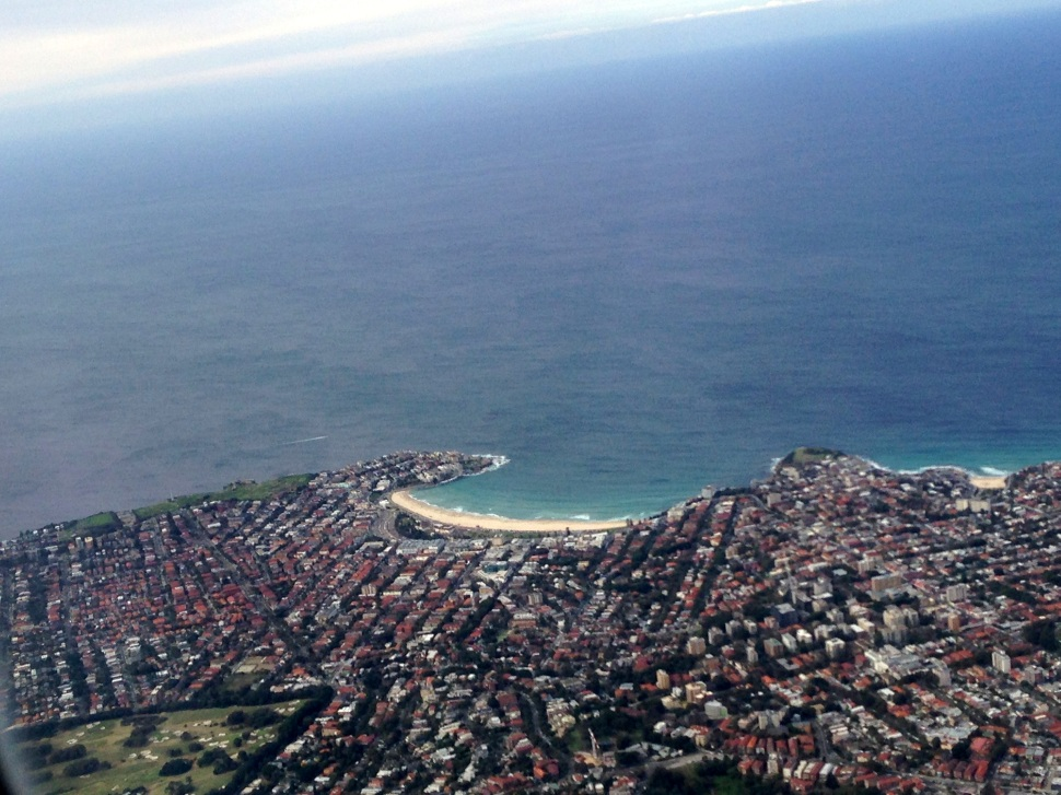 Bondi from the air.