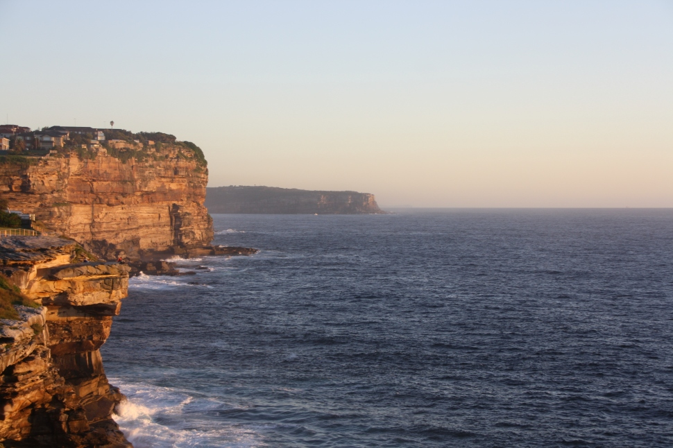 Morning light on Sydney's South Head Photo Erle Levey / Sunshine Coast Daily