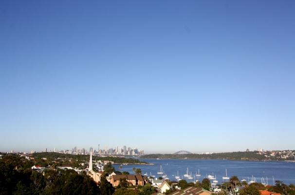 Morning light on Sydney Harbour Photo Erle Levey / Sunshine Coast Daily