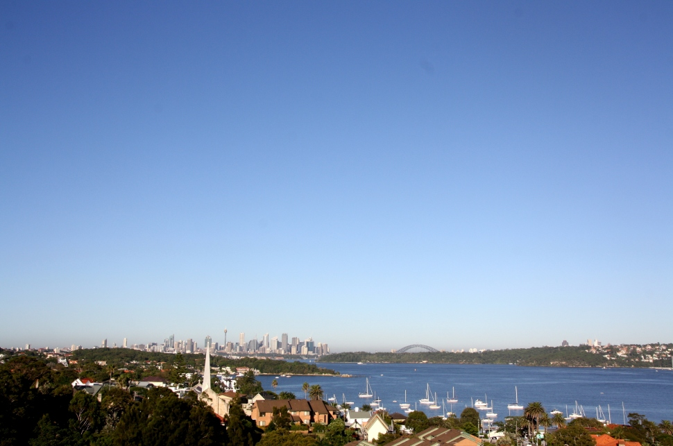 Morning light on Sydney Harbour Photo Erle Levey / Sunshine Coast Daily