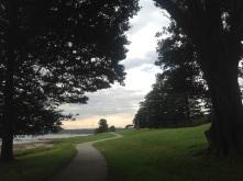 Parkland at Botany Bay National Park, near the landing site of Capt James Cook in 1770.