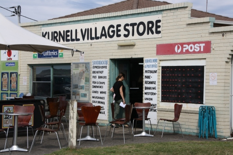 Kurnell Village Store on the beachfront at Botany Bay.