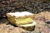 Vanilla slice from Crust at Cotton Tree Photo Erle Levey / Sunshine Coast Daily