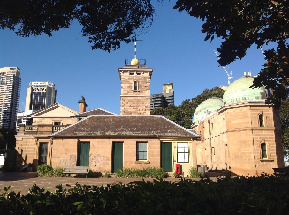 Sydney Observatory. Photo Erle Levey / Sunshine Coast Daily