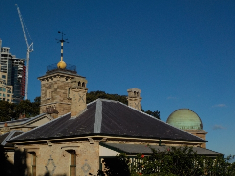 The Sydney Observatory. Photo Erle Levey / Sunshine Coast Daily