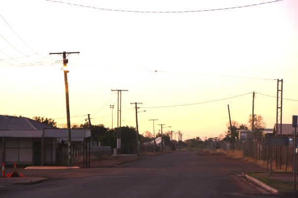 Cloncurry street. Photo: Erle Levey, Sunshine Coast Newspapers