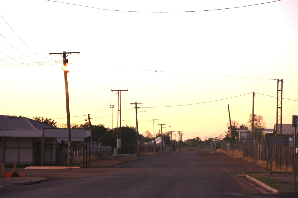 Cloncurry street. Photo: Erle Levey, Sunshine Coast Newspapers