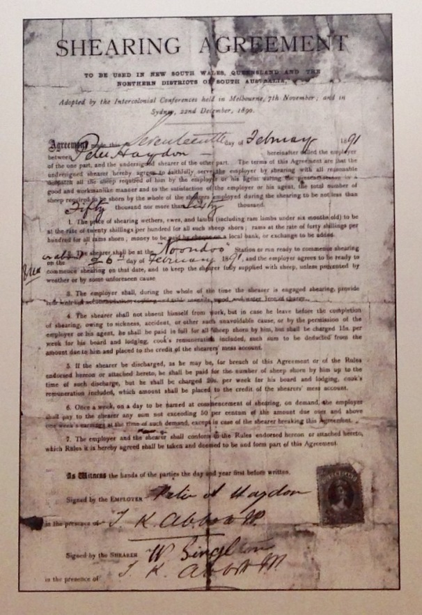 Shearing agreement (7)