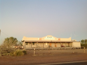 The Walkabout Creek Hotel, McKinlay, Queensland. Photo: Erle Levey, Sunshine Coast Newspapers