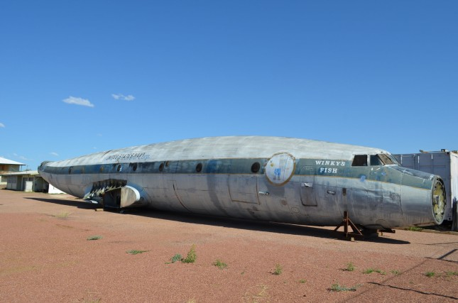 QFM Super Constellation in Longreach