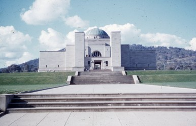 The War Museum, then - 1958