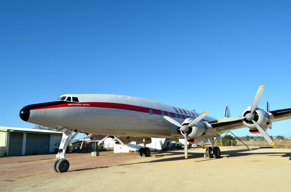 Qantas Super Constellation 1
