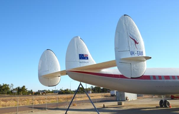 Qantas Super Constellation 3