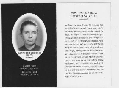 1956 Mrs Gyula Bakos, Erzsebet Salabert 03