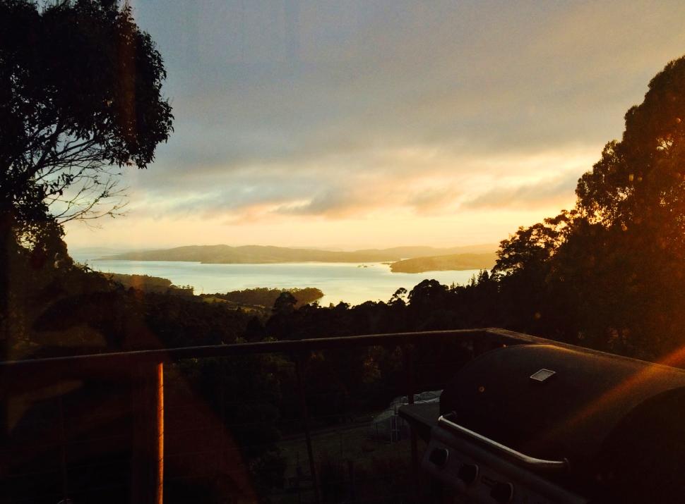 bruny island sunrise2