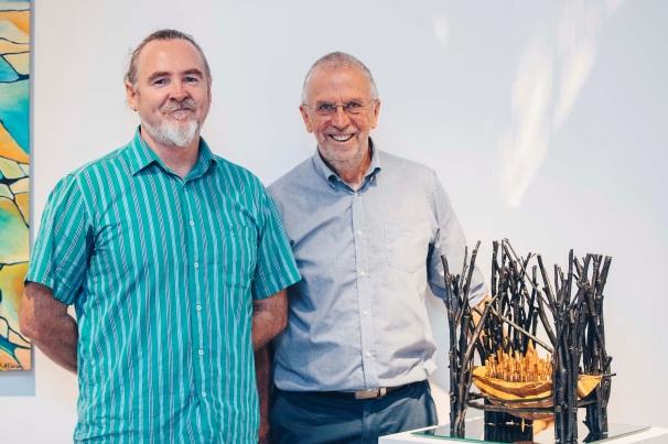 Phil Smith and Ken Munsie