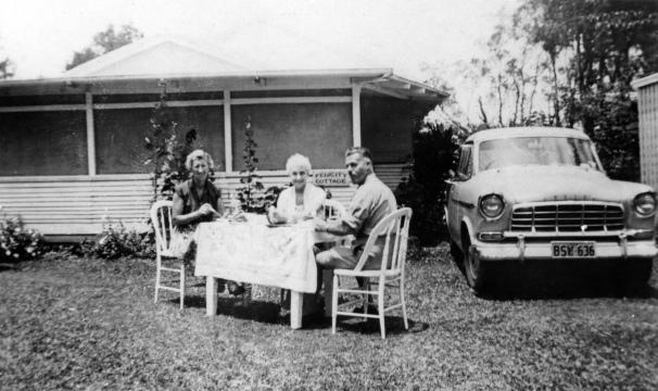 Stiensen family home Felicity Cottage in Omrah Avenue Caloundra, ca 1960. Courtesy Picture Sunshine Coast.